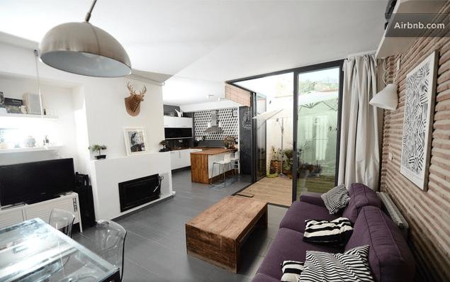 Habitación en casa moderna en el Albaycin