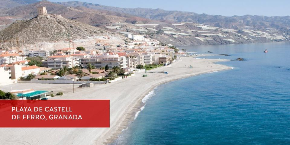 Playa de Castell de ferro Granada