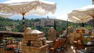 restaurante el balcon de san nicolas el tenedor Granada
